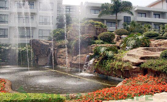 苏氏山水假山喷泉池制作工艺