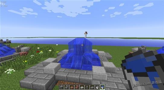 我的世界喷泉设计图