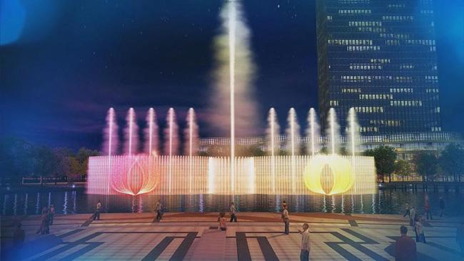 迎G20浙江国际影视制作中心音乐喷泉预埋施工有序进行中, 近日,由我司承建的浙江国际影视制作中心音乐喷泉项目,喷泉预埋施工工序已井然有序地安排,预计划于5月底完工。       作为浙江影视产业的领头羊,浙江省广电集团投资20多亿元,并计划在四年内分期实施打造集多种功能于一体的综合性文化创意产业园区。首期工程总建筑面积28.5万平方米,其中包括影视后期制作核心区、影视文化综合服务区和影视独立制作区三大建筑群组。